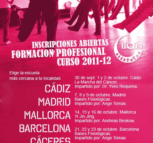 Inicio de Cursos  de Formación Profesional 2011-12