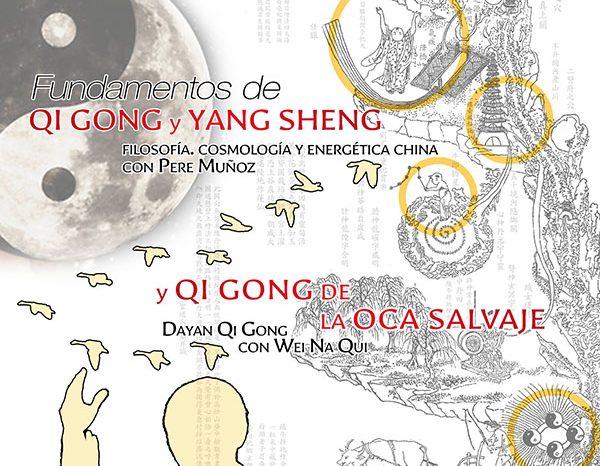 Seminarios en Madrid. Qi Gong & Yang Sheng y de la Oca Salvaje (Dayan Qi Gong). 23, 24 y 25 Octubre