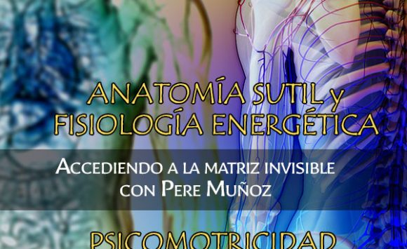 Seminarios en Barcelona. Psicomotricidad Energética y Anatomía sutil y fisiología energética (Accediendo a la matriz invisible). 13, 14 y 15 Noviembre
