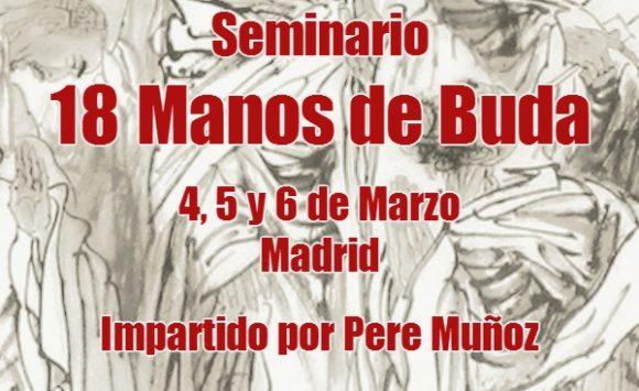 Seminario en Madrid. LAS 18 MANOS DE BUDA  (Sub Bak Luo Han Yik Gun Kuen). 4-5-6 de Marzo de 2016