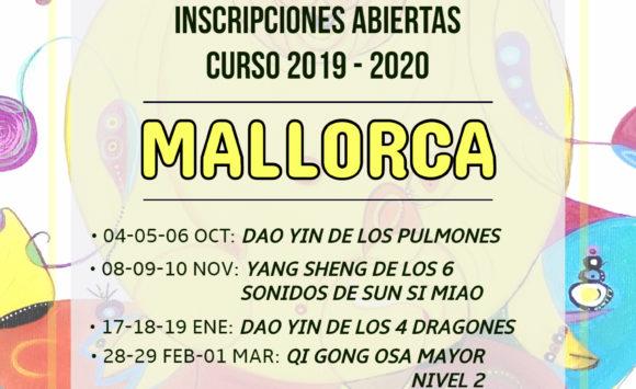 Inscripciones abiertas curso 2019-2020 en Mallorca