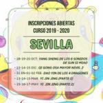 Inscripciones abiertas curso 2019-2020 en Sevilla