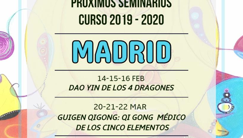 Próximos seminarios curso 2019-2020 en Madrid