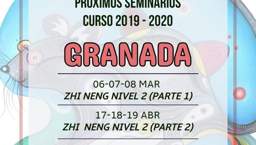 Próximos seminarios curso 2019-2020 en Granada
