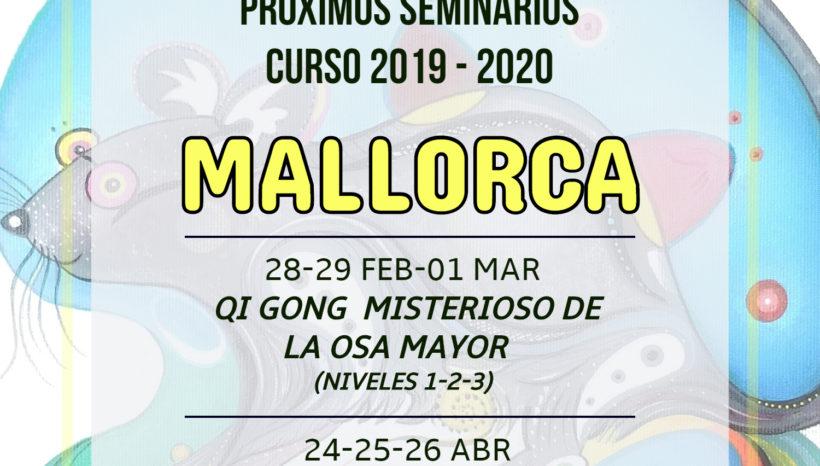 Próximos seminarios curso 2019-2020 en Mallorca