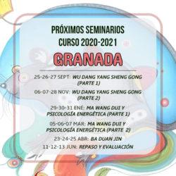 Programación 2020-2021 en Granada