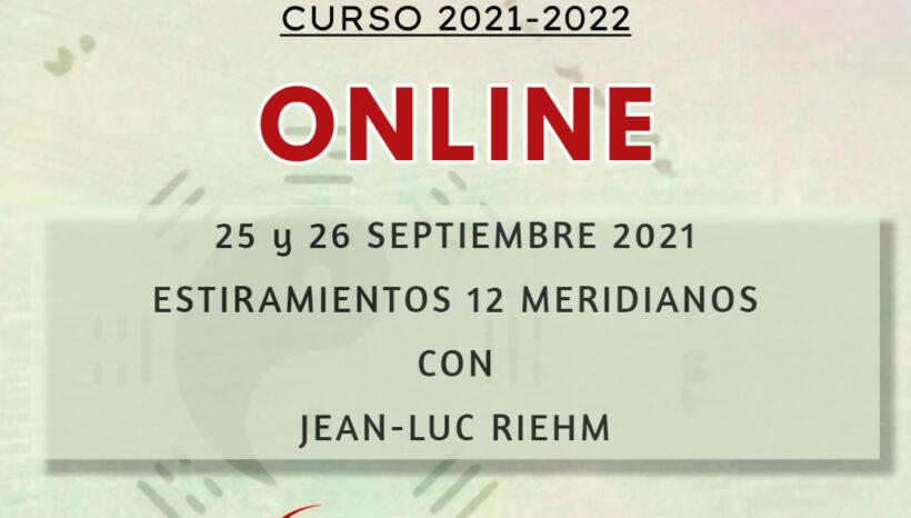 Seminario Online: Estiramiento 12 meridianos